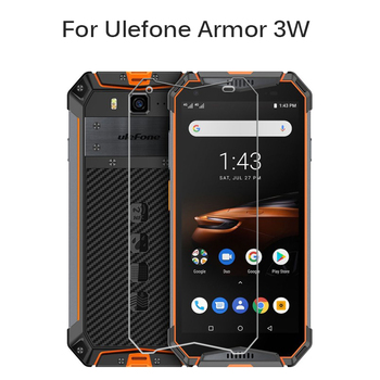 Перейти на Алиэкспресс и купить Закаленное стекло 9H для Ulefone Armor, 3 Вт, Защитная пленка для экрана Ulefone, Защитная пленка для мобильного телефона, 3 Вт, 5,7 дюйма, защитное стекло