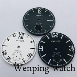 Parnis 38.9mm watch dial luminous mark fit ETA 6498 Seagull ST3620 hand winding movement