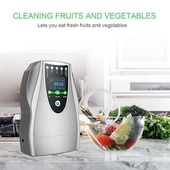 Household Ozone Disinfection Disinfector Ozone Generator Air Purifier Clean Room Chemical Detoxification Food Safety Ozonizer 220v household ozone disinfection disinfector ozone generator air purifier