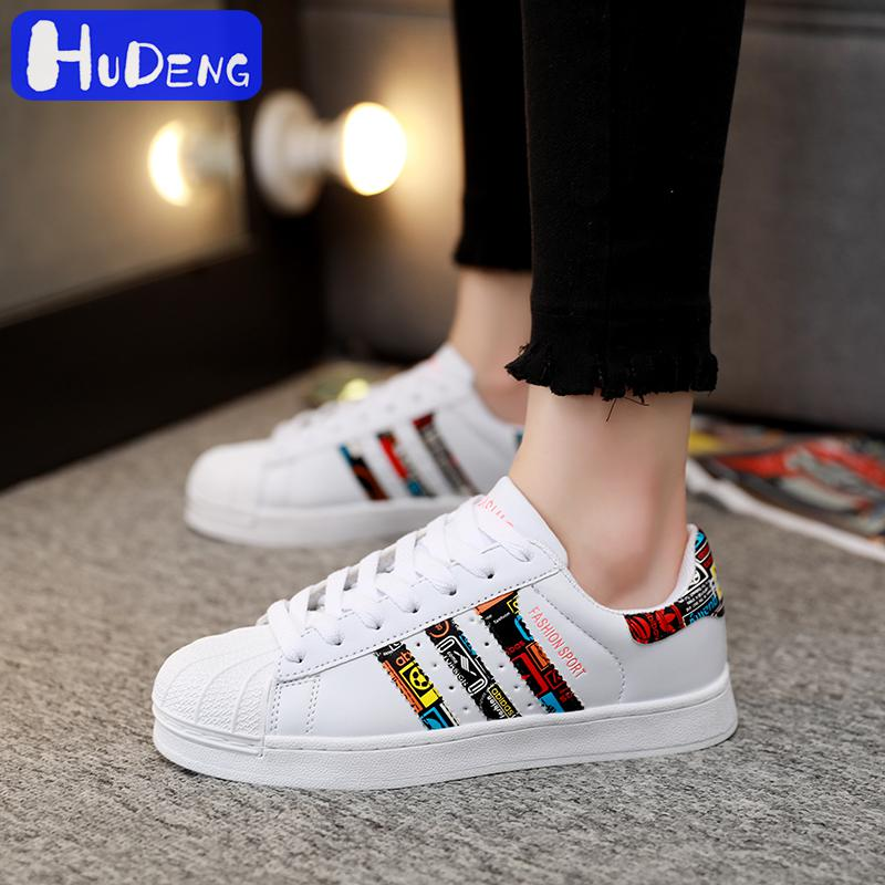 2020NEW Shell Head Men Shoes Casual Shoes Man Women Same Paragraph Wild Couple Shoes Small White Shoes Three Bars Shoes Size5-11