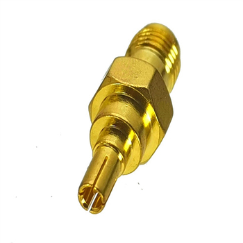 10PCs antenna RF Coaxial Adapter connector Converter RP SMA female  to CRC9 male plug bnc female plug to sma female jack antenna adapter copper connector converter