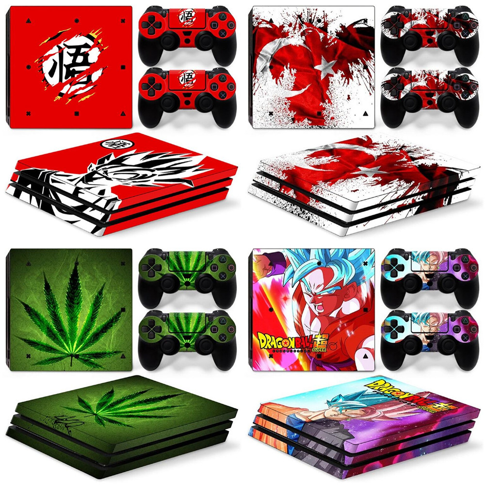 Hot Selling Skin Sticker For sony playstation 4 Pro console for ps4 Pro skins stickers image