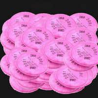 20 teile/satz partikel filter baumwolle P100 verwenden Gas Für Farbe Staub Maske 6200/6800/7502 anti-staub atemschutz Fliters 25*28mm