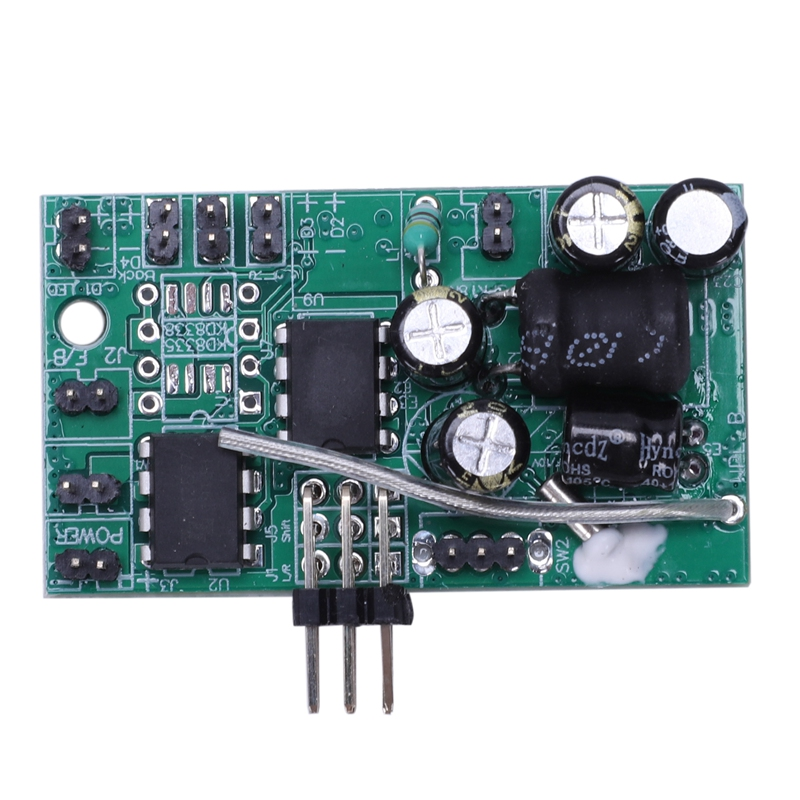 1 Pcs 4CH Receiver Board 2.4G Sound System Receiver Board for WPL B1 B16 B24 B36 C14 C24 1/16 Rc Car Parts image
