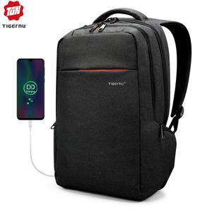 Image 1 - Tigernu Бренд рюкзак мужской брызгозащищенный рюкзак рюкзак Студент Школьный Рюкзак Женщины Компьютер Ноутбук Сумка
