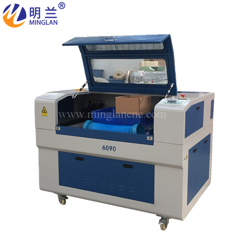 6090 Carbon Dioxide CO2 Laser Cutting Machine For Acrylic Wood