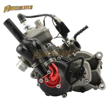 Motor de motocicleta 49CC, motor refrigerado por agua para 05 KTM 50 SX 50 SX PRO Dirt Bike Pit Bike Cross con palanca de arranque