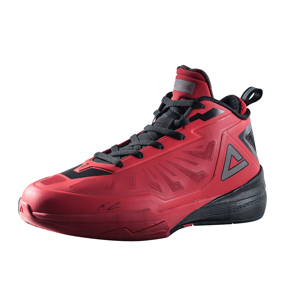 PEAK Men's Basketball Shoes High-top Outdoor Sports Sneakers Breathable Athletic Shoes Cushioning Basketball Sneakers