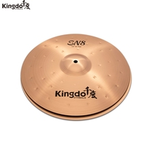 "Kingdo B8-SN8 series 14""hihat cymbal for drums"