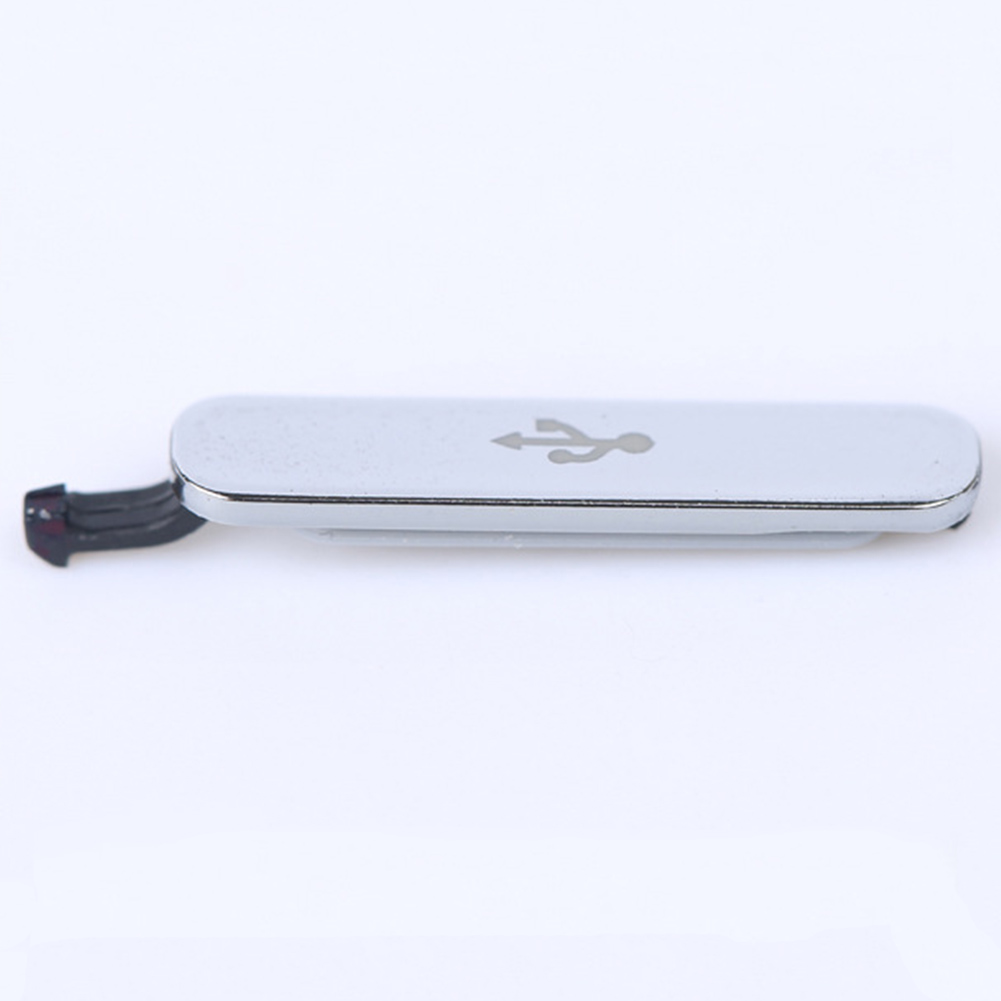 Bouchon anti-poussière pour S5 rabat de couverture USB pour G900F/H pour G9008V USB données Port de charge bouchon anti-poussière bloc couvercle étanche à l'eau