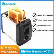 Toaster Sandwich Oven Kitchen-Appliances Breakfast Fast-Safety-Maker 220V Baking 750W