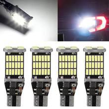 T15 w16w led 921 912 super brilhante 45 smd 4014 led canbus nenhum erro acessórios do carro backup parar reserva luz de freio lâmpada sinal