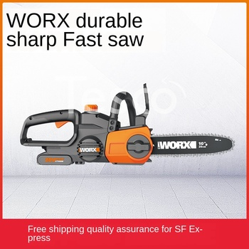 Rechargeable chainsaw WG322E chainsaw high-power logging saw household portable small chain electric chain saw rechargeable chainsaw wg322e chainsaw high power logging saw household portable small chain electric chain saw