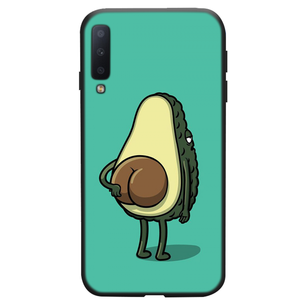 Alpukat Makanan Buah Mungil Kartun Keren Lucu Phone Case untuk Samsung A20 A30 30S A40 A7 2018 J2 J7 prime J4 Plus S5 Catatan 9 10 Plus