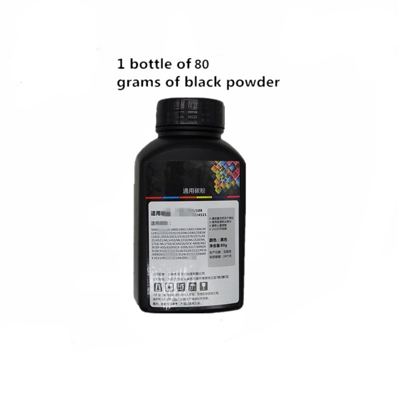 Black Refill Laser Toner Powder Kits <font><b>ML</b></font> <font><b>1520</b></font> 1710 1750 4050 4550 4551N 4551DN 808S-5100 5100P 535E 1410 Printer image