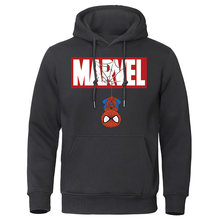 2020 Autumn Winter MARVEL Hoodies Spiderman Men Hoodie Sweatshirts Tops Casual New Male Tracksuit The Avengers Brand Pullovers(China)