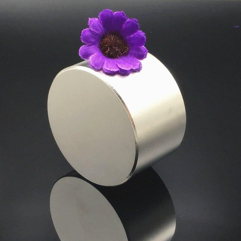 Горячий магнит из неодима N52/N35/N40, круглый мощный магнит 1 шт, 50х30 мм, диаметр 40-60 мм, из редкоземельного металла