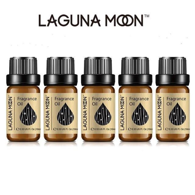 Lagunamoon 10ml Aventus Jadore bricolage huile de parfum fraise fleur d'oranger huile pour bougie savon faisant parfum Air frais diffuseur 6