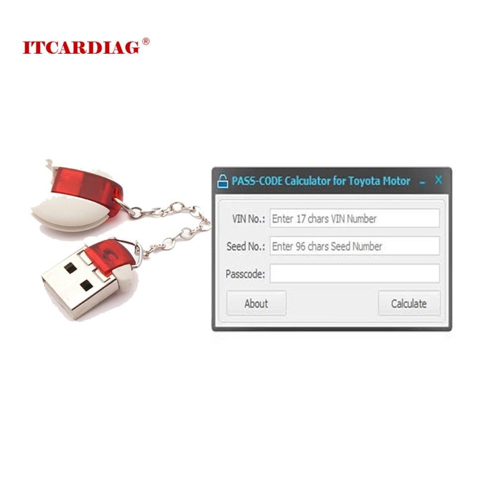 Wachtwoord Rekenmachine Key Programmeur Voor To-Yota Le-Xus En S-Cion Originele Development Tool 11.00.019 Smart code Resetten Tool