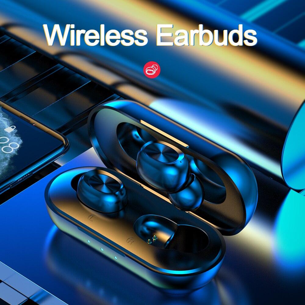TWS Bluetooth 5 0 Wireless Headphones Headset Sport Bluetooth Earphone Waterproof Earbuds Earphones Charging Box With Microphone