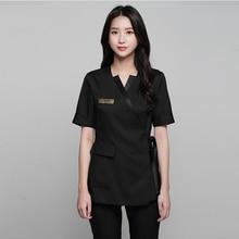 Summer high-end spa health club beauty salon set beautician front desk uniform female plastic surgery hospital