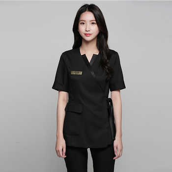 Summer high-end spa health club beauty salon set beautician front desk uniform female plastic surgery hospital - DISCOUNT ITEM  0 OFF All Category