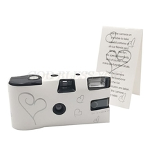 Film-Camera Photos Disposable One-Time Single-Use 36 Power Party-Gift Flash-Hd