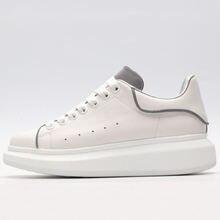 Роскошные Брендовые женские кроссовки доска для обуви кожаные