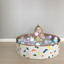 Ball-Pool Game Swimming-Pool Baby Indoor Children's And Storage Fence-Ocean-Ball Folding