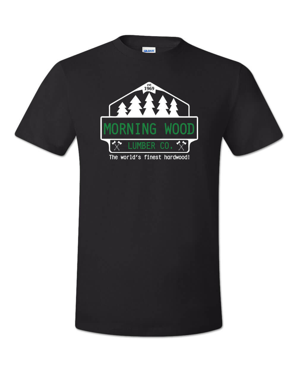 2019 Fashion Summer Style Morning Wood Lumber Company <font><b>Shirt</b></font> <font><b>Funny</b></font> Adult Guy <font><b>Sex</b></font> Humor Party Dude Joke 69 Tee <font><b>Shirt</b></font> 034343 image