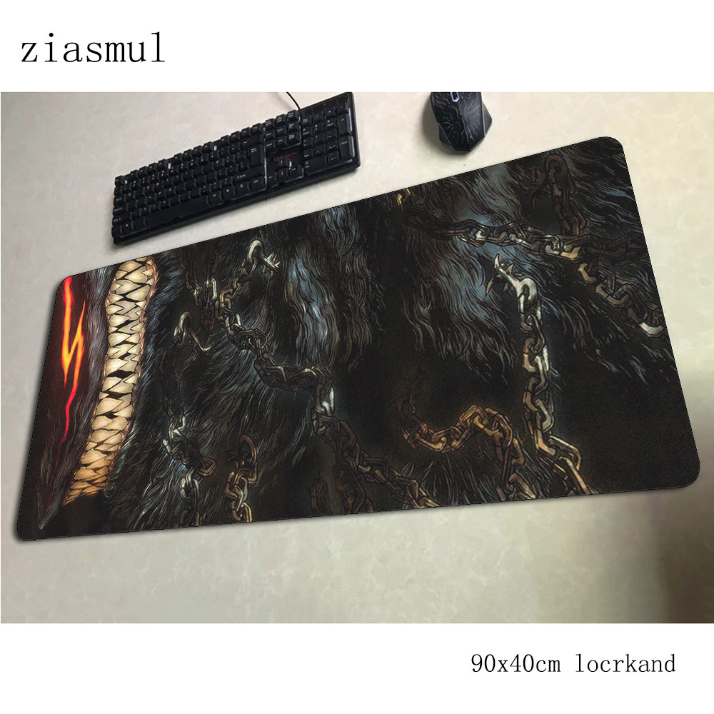 berserk <font><b>padmouse</b></font> <font><b>900x400x3mm</b></font> gaming mousepad game large mouse pad gamer computer desk cheapest mat notbook mousemat pc image