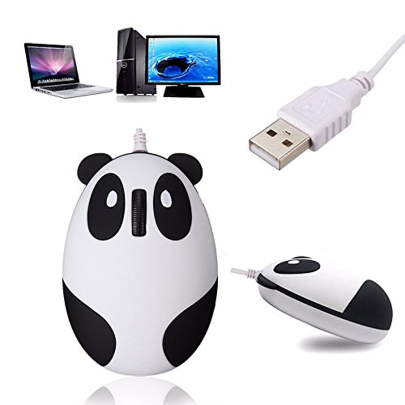 2.4GHz Wireless Optical Panda Computer Mouse Gifts Fit For Windows/2000/2003/XP/Vista/Win7/Linux/Android/Macbook  VH99