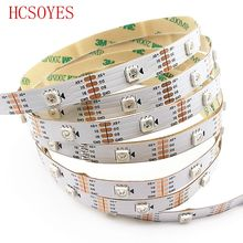 купить 1m/3m/4m/5m roll WS2813 Smart led pixel strip,Black/White PCB,30/60 leds/m WS2813 IC;better than WS2812B strip,IP30/IP67 DC5V по цене 227.31 рублей