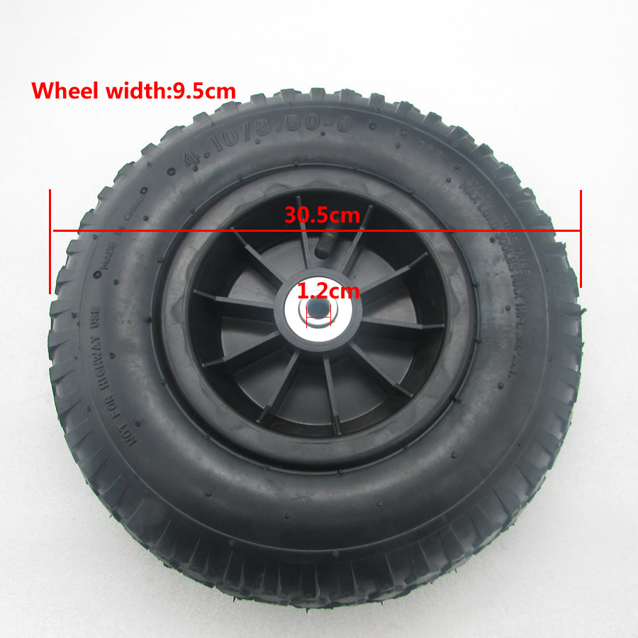 1pcs Children  Electric Car Accessories Stroller Automobile Pneumatic Wheels Pneumatic Tire Rubber  Wheel Toy Tires 30cm