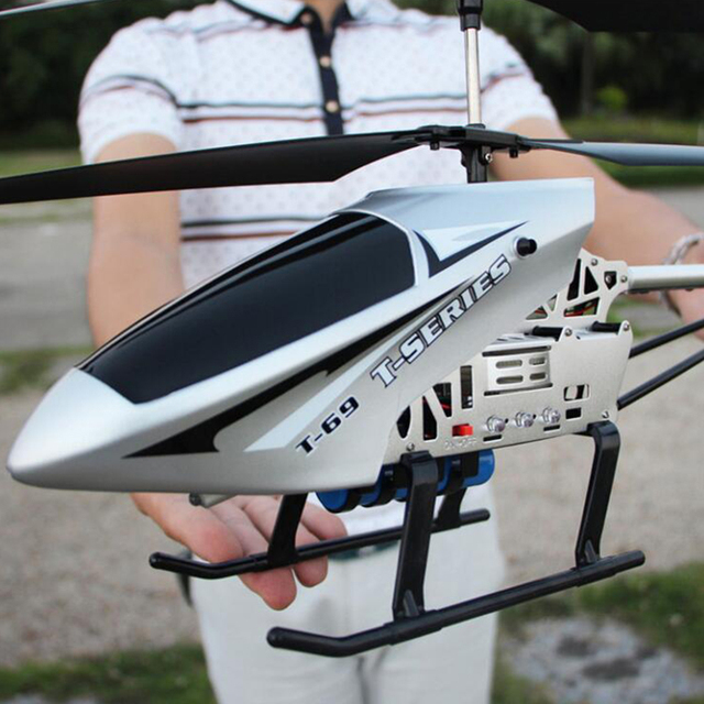 New 80CM Super Large RC Aircraft Helicopter Toys Recharge Fall Resistant Lighting Control UAV Plane Model Outdoor Toys For Boys 3