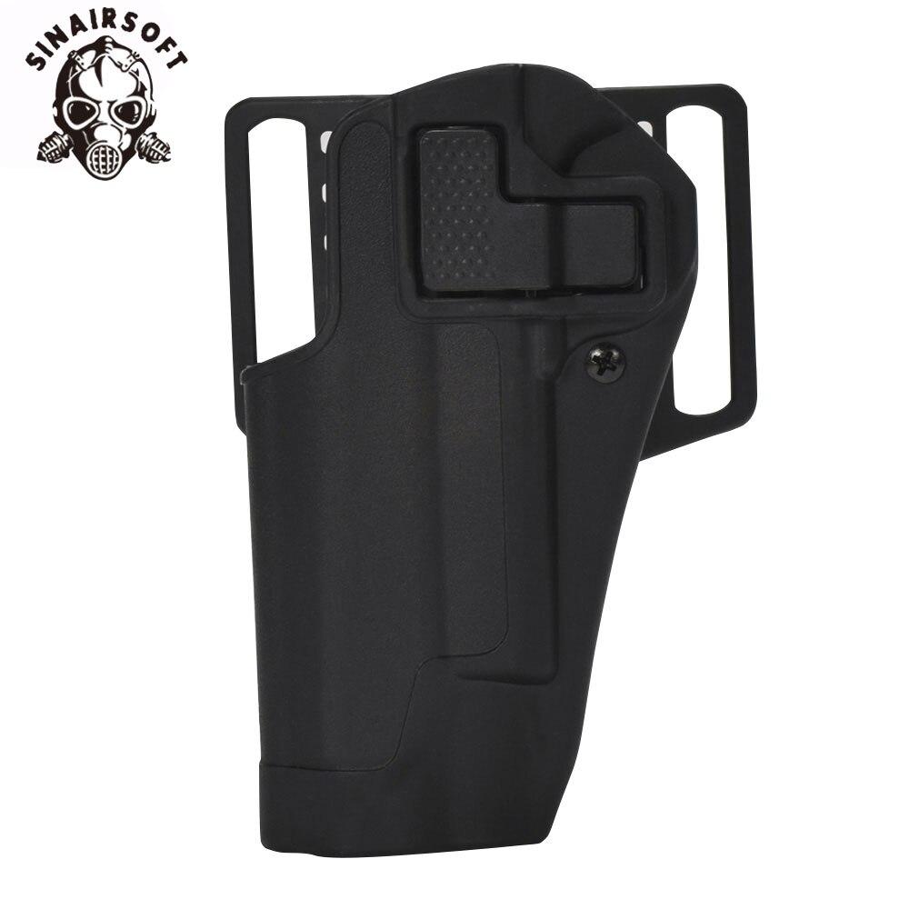 SINAIRSOFT Tactical Holster CQC Style Concealment Quick Left Hand Waist Pistol / Gun Holster Case Pouch For Colt 1911 M1911