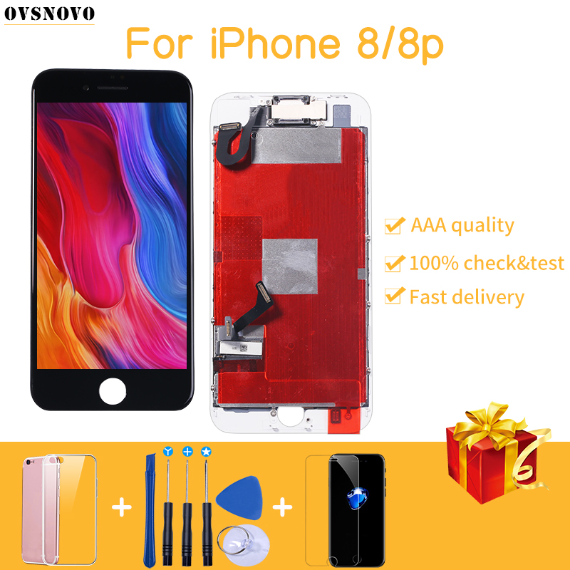 LCD Lcd-Screen-Assembly-Replacement Superior-Quality iPhone 7 Front-Camera for 7-plus/8/8-plus