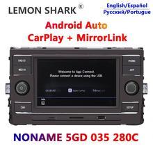 "Carplay Android Auto Noname MIB 6.5 ""Auto Radio 280C Mirrorlink Für VW Lamando GOLF MK7 Passat B8 Tiguan L neue Octavia Lamando"