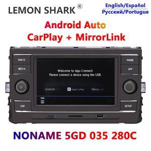 "Carplay Android Auto Noname MIB 6.5"" Car Radio 280C Mirrorlink For VW Lamando GOLF MK7 Passat B8 Tiguan L New Octavia Lamando(China)"