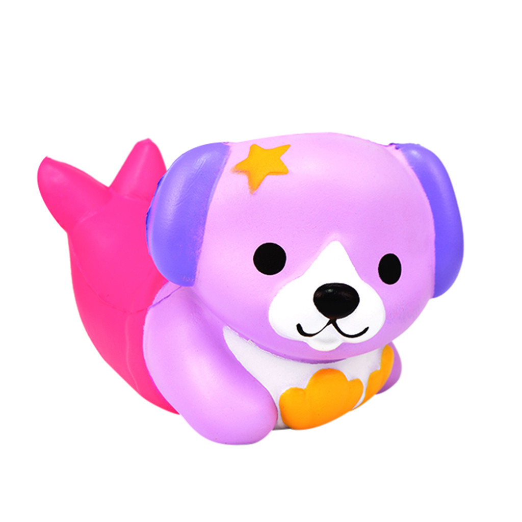 Fun Dog Squish Very Slow Rising Squishies Toy Squishes Stress Releasing For Kids Cute Dog Funny Toy Gift L108