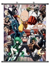 Anime Poster ONE PUNCH-MAN  Wall Scroll Printed Painting Home Decor Japanese Cartoon Decoration Poster