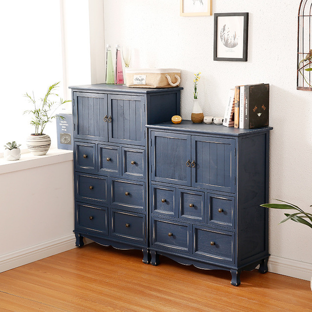 Wooden Multi-Layer Chest of Drawers  2