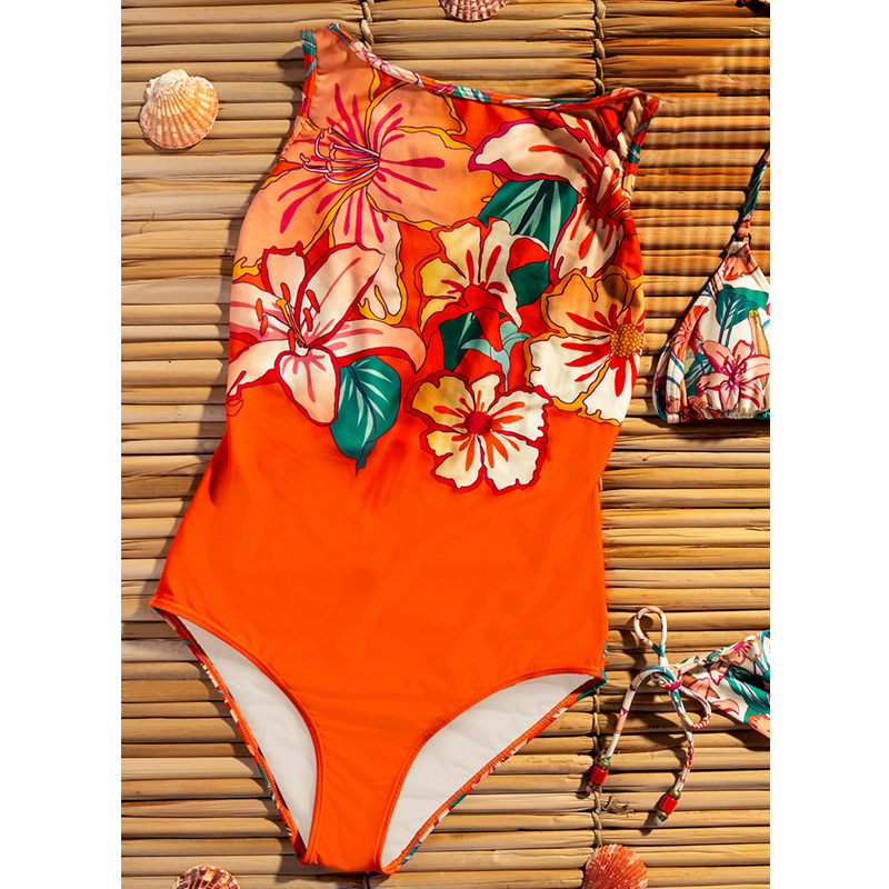 Hb74f7ddcca8d4c3aa40db89270b279e5X - Striped Women One Piece Swimsuit High Quality Swimwear Printed Push Up Monokini Summer Bathing Suit Tropical Bodysuit Female
