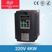 Ruso CE 220v 1.5kw/2,2/4kw 1 Fase de entrada y salida de fase convertidor de frecuencia/ac motor/VSD/VFD/50 HZ del inversor
