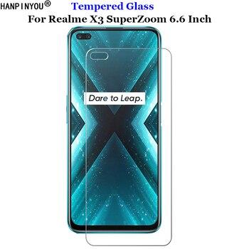 Перейти на Алиэкспресс и купить Для Realme X3 SuperZoom закаленное стекло 9H 2.5D Премиум Защитная пленка для экрана для Realme X3 Super Zoom 6,6дюйм