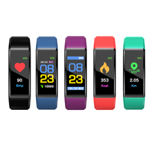 Smart Band Sports Fitness Tracker Bracelet Blood Pressure Heart Rate Monitor Smartband Best Gift