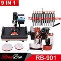 Многофункциональный 30*38 см комбинированный термопресс машина сублимационный принтер 2D теплопередающая машина для ручки колпачок кружка п...