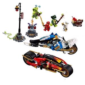 Image 4 - 2020 ninjagoesジャングルレイダー黄金のメカ雷レイダーフィギュアモデルと互換忍者ギフトおもちゃ