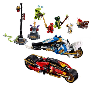 Image 4 - 2020 Ниндзяго the jungle raider Golden Mech Thunder Raider фигурки модель строительные блоки Совместимые с ниндзя Подарочные игрушки