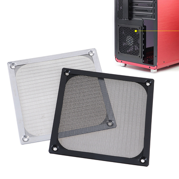 1 قطعة 12 سنتيمتر شبكة الغبار تصفية الكمبيوتر برودة فلتر مروحة الغبار وحدة معالجة خارجية للحاسوب غطاء